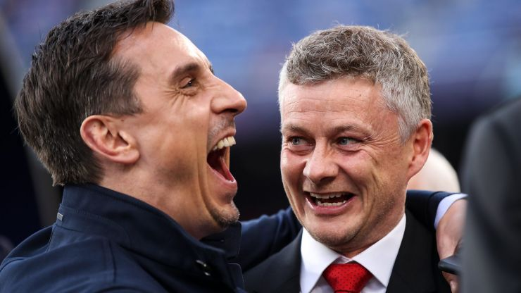 """Gary Neville says he refuses to call out """"mate"""" Ole Gunnar Solskjaer"""