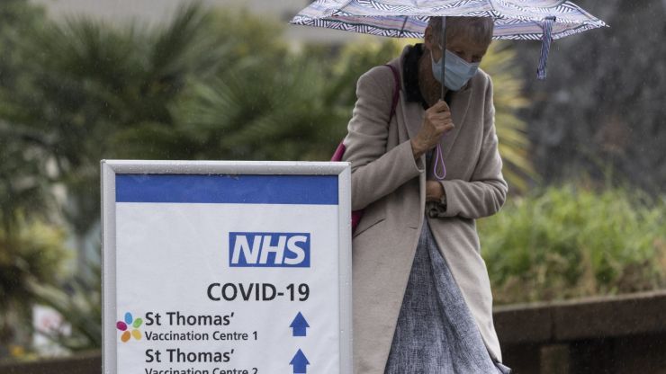 Downing Street issues winter warning as daily Covid cases near 50,000