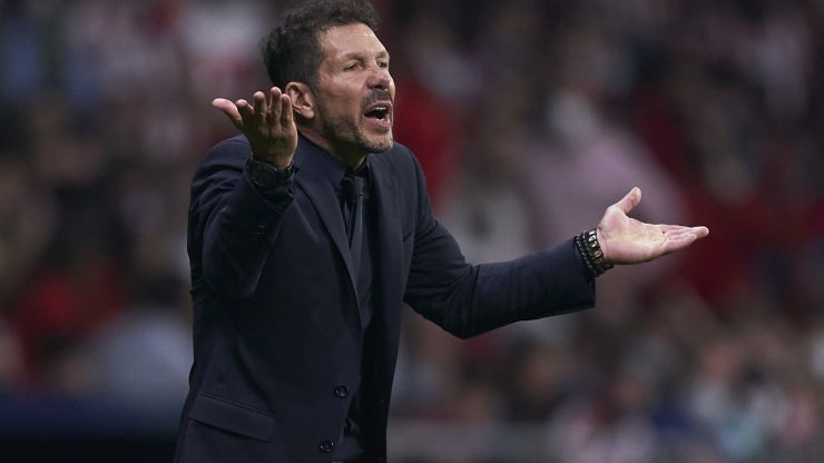 Diego Simeone refuses to shake Jurgen Klopp's hand after Liverpool win