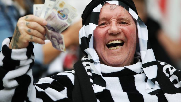 Newcastle ask fans to stop wearing wearing Arabic clothing and Middle East-inspired head coverings