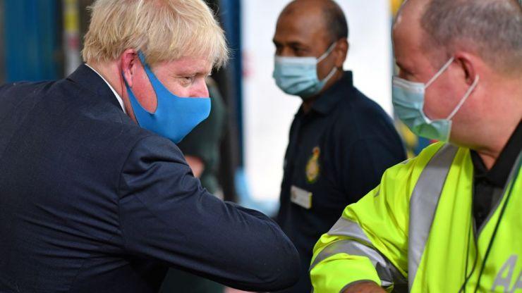 Bring back masks and WFH or risk winter Covid surge, Johnson warned