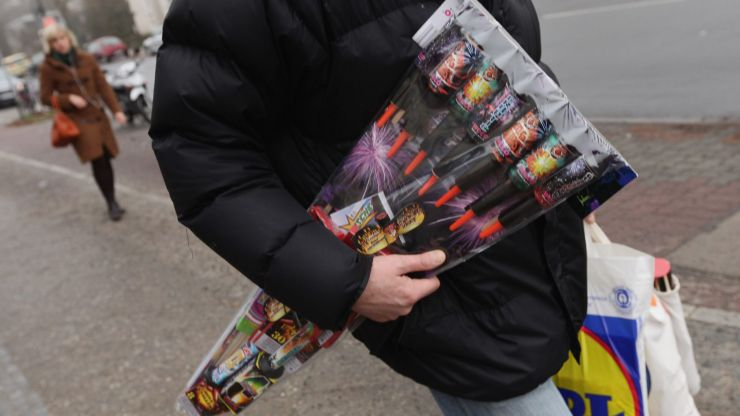 Two thirds of you think all supermarkets should ban fireworks