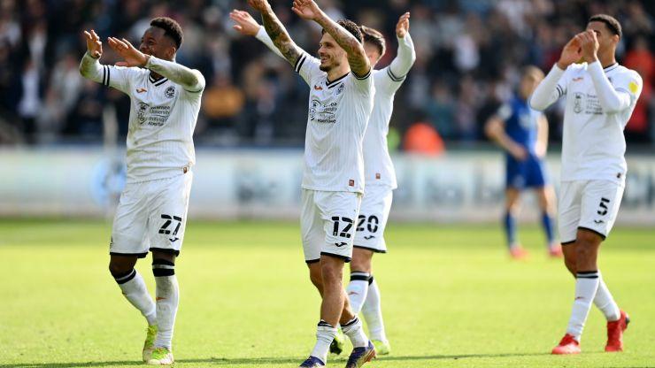 Cardiff City report Swansea to police over 'swim away' celebrations