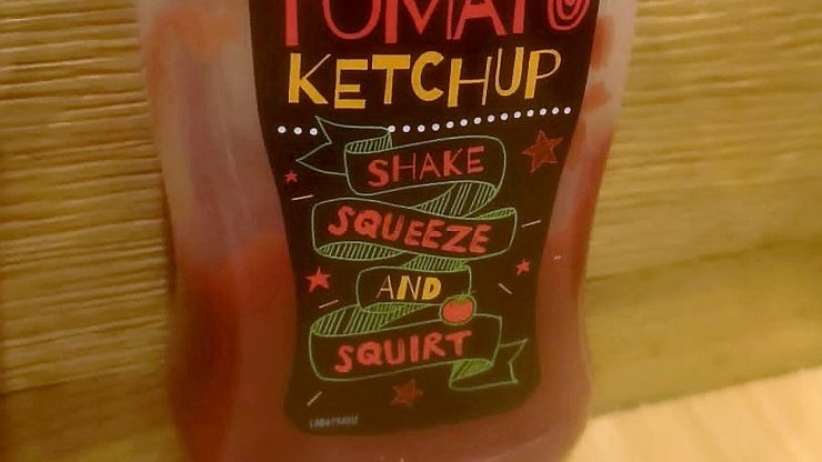 Pizza Hut customer outraged over 'sexual' ketchup label that reads 'shake, squeeze and squirt'