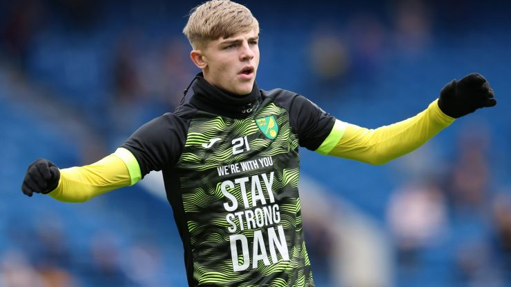 Norwich players wear 'Stay Strong Dan' shirts following teammate Barden's cancer diagnosis