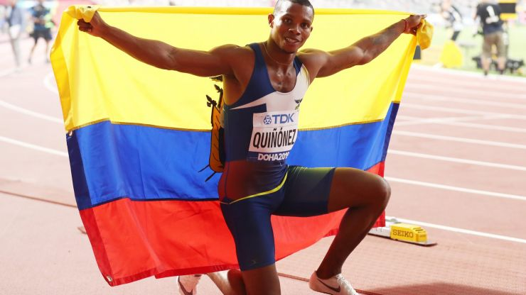 Ecuador sprinter Alex Quiñónez shot dead