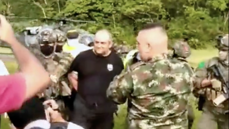 Colombia's most wanted drug lord Otoniel finally captured