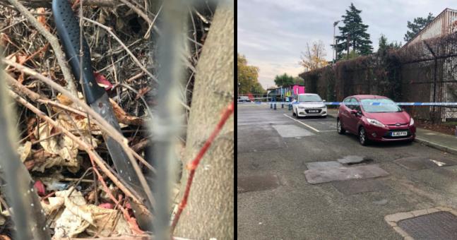 Knife discovered in bush close to fifth London murder in a week | JOE.co.uk