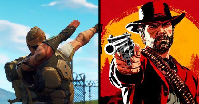 Fortnite beats Red Dead 2 for Game of the Year at Golden Joystick