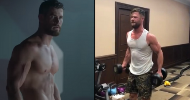 Chris Hemsworth uses this HIIT workout to get into superhero shape