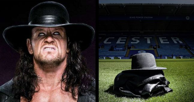 The Undertaker sends a message to Leicester City over their new signing | JOE.co.uk