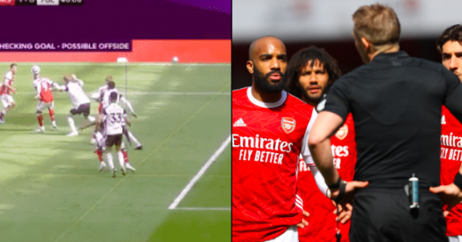 Critics claim football 'is finished' after controversial VAR decision in Arsenal game | JOE.co.uk