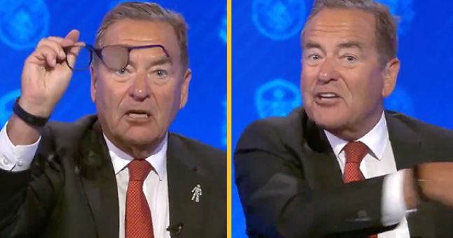 Jeff Stelling loses it during Soccer Saturday after Brighton was denied a blatant penalty   JOE.co.uk