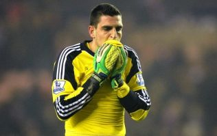 Vine: World-class clanger from Vito Mannone hands Manchester City a title lifeline