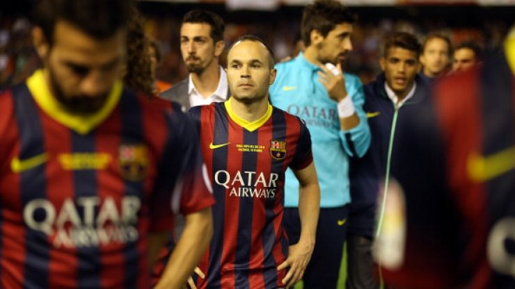 Video: Barcelona's players pay tribute to the late Tito Vilanova, who passed away yesterday
