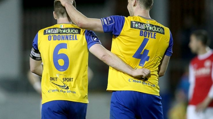 Video: Dundalk's Sean Gannon completes one of the best team goals you'll ever see