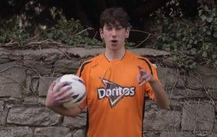 Video: Irish freestyle football superstar Daniel Dennehy surprises LUAS commuters