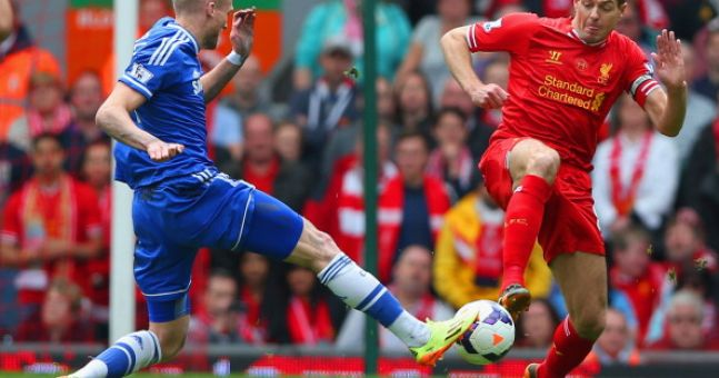 Gifs: Chelsea beat Liverpool to blow title race wide open again