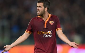 Vine: Roma's Miralem Pjanic scored this wondergoal against AC Milan last night