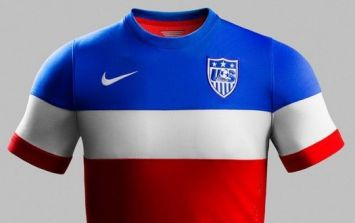 Pic: What do you make of the USA away kit that has just been released?