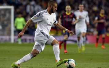 Vine: Karim Benzema produced an utterly gorgeous piece of skill last night