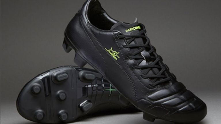 Pics: Puma's 'blacked-out' evoPower boot is very slick indeed