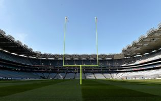 Pic: ESPN mix Croke Park up with the Bernabeu in this on screen graphic