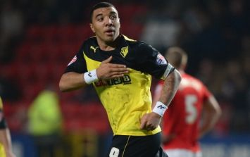 Vine: Troy Deeney's goal for Watford against Charlton last night was a thing of beauty
