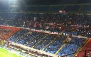 Video: Milan fans pay tribute to Hillsborough victims with a rendition of You'll Never Walk Alone