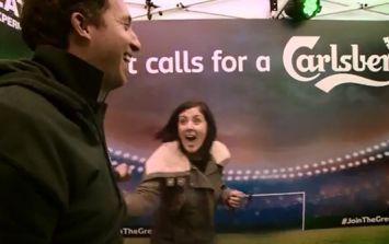 Video: Robbie Fowler, Jason McAteer and Didi Hamann making Irish Liverpool fans' day in Dublin last month