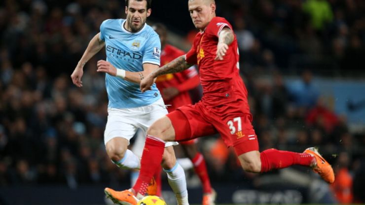 Video: Watch out Liverpool fans, Negredo's in sensational form. Look at this stunning volley