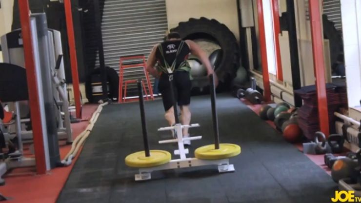 Video: Bring some fun to your workouts with this seriously tough routine