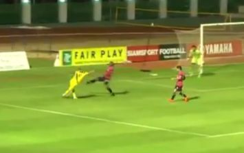 Video: Our very late contender for goal of the weekend is this superb rabona from Thailand