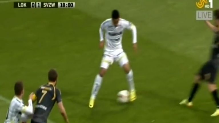 Video: You have to see this simply amazing piece of skill from the Belgian league