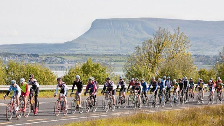 An Post Tour of Sligo Cycle Comes to Town