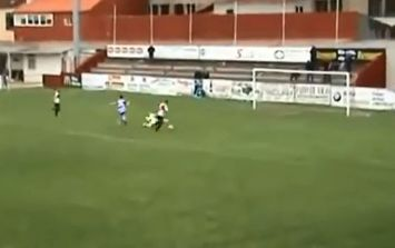Video: Unbelievable individual goal from the Spanish fourth division at the weekend