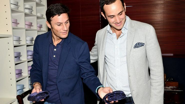 Inter Milan legend Javier Zanetti joins forces with the style gurus of Gagliardi