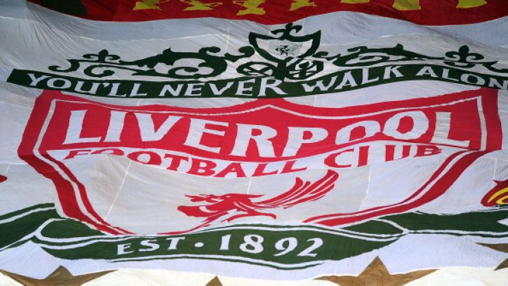 Picture: This couple went all out with the Liverpool theme at their wedding