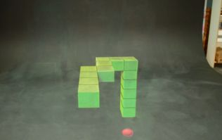 Video: This artist's stop-motion version of Snake in 3D will blow your mind