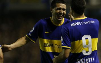 Video: Riquelme scored this absolute cracker in stoppage time last night