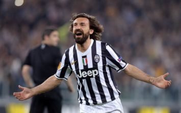 Video: Andrea Pirlo scores an amazing free kick that only he can do