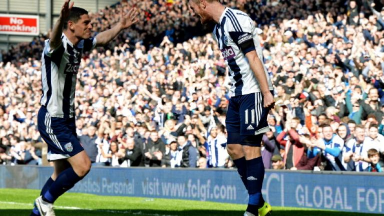 GIFs: West Brom off to a dream start with two goals in five minutes against Spurs