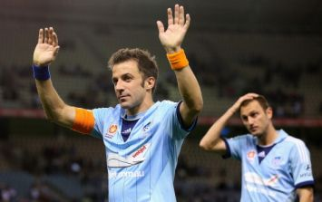 Italian legend Alessandro Del Piero is hanging up the boots