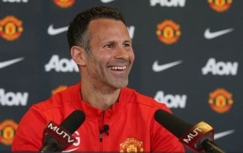 Vine: Ryan Giggs gets introduced as 'David' at his first press conference