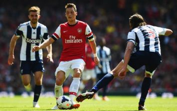 Video: Mesut Ozil shows a brilliant (but pointless) piece of skill against West Brom