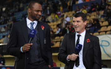Keane and Vieira back together on ITV's World Cup panel