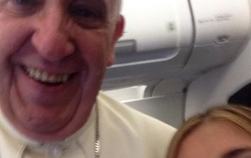 Pic: Even the Pope is getting in on the selfie act