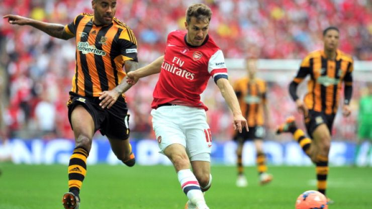 Aaron Ramsey puts Arsenal ahead in extra-time in pulsating FA Cup Final