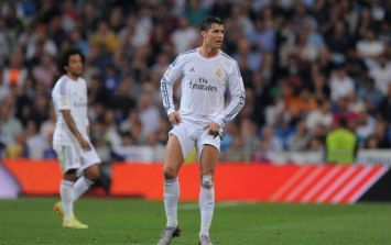 And the highest paid soccer player in the world is...