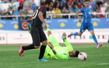 Video: Turkish international misses open goal from three yards out